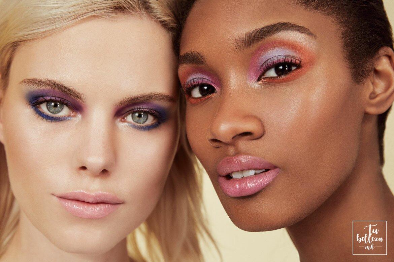Maquillaje de colores intensos para primavera/verano