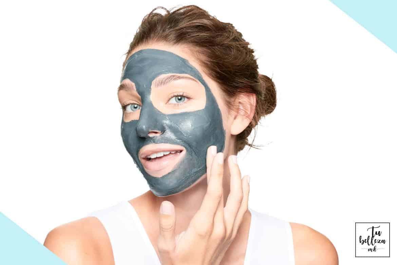 Utiliza mascarillas de carbón para una limpieza profunda