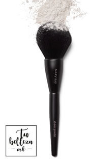 Brocha para polvos all-over de Mary Kay, perfecta para aplicar los polvos de maquillaje y un aspecto natural