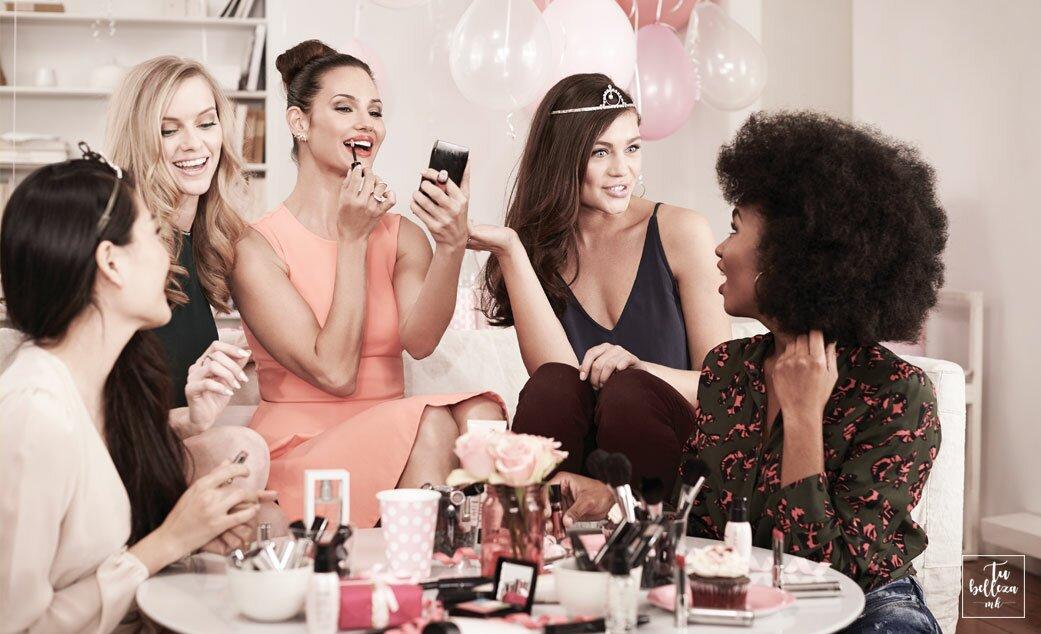 Sesión de Belleza para novias y amigas Mary Kay