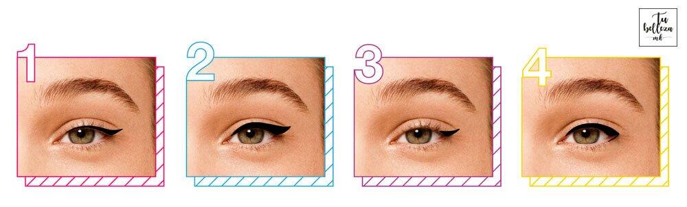 Descubre formas para delinear tus ojos