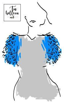 Las plumas, un tejido otoñal para los looks más sofisticados