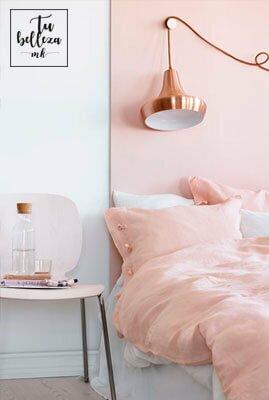 Decoración en rosa y cobre, tendencia del invierno en tu casa