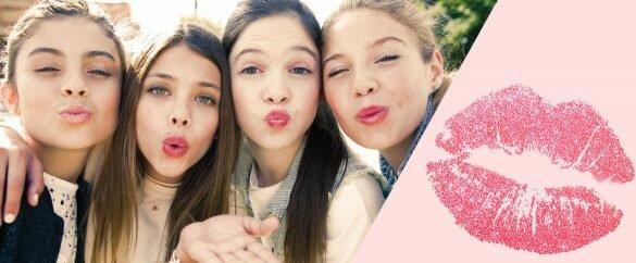 Descubre tu personalidad según tus besos