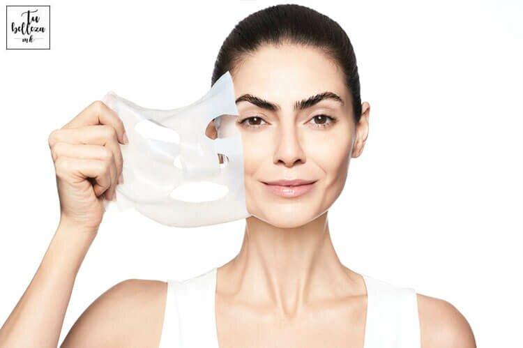 Hidrata tu piel con mascarillas en formato sábana