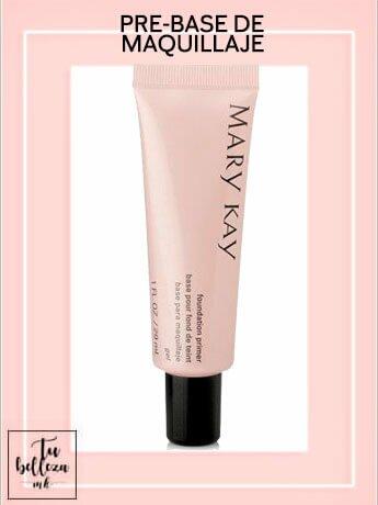 Añade la pre-base de maquillaje a tu maquillaje y consigue un acabado duradero
