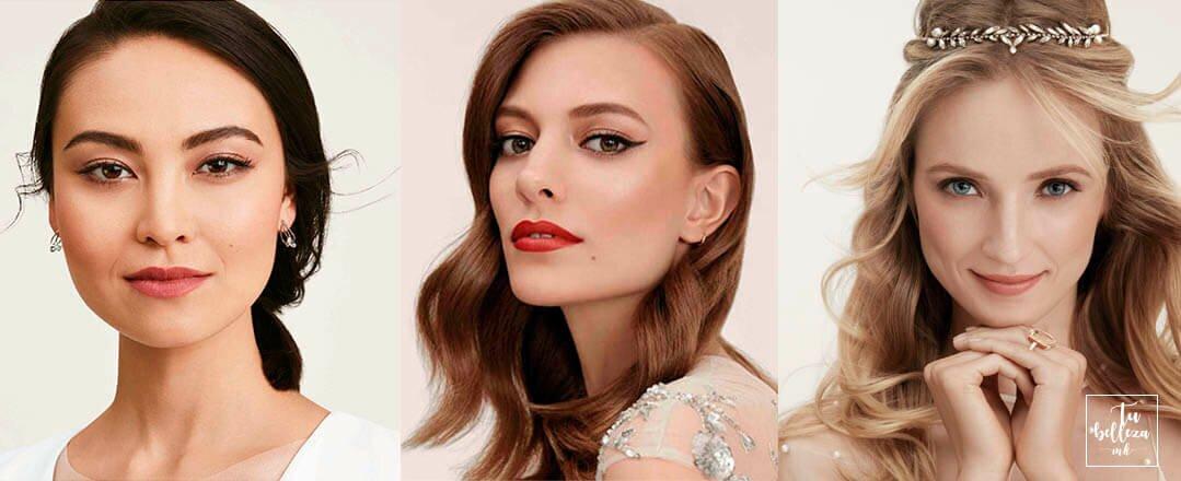 ¿Cómo quieres maquillarte el día de tu boda? ¡Te damos algo de inspiración!
