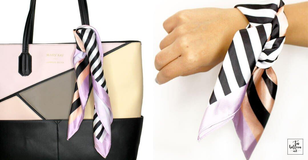 Aprende a utilizar tus pañuelos como complemento