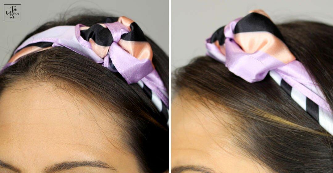 Cómo ponerse un pañuelo de diadema