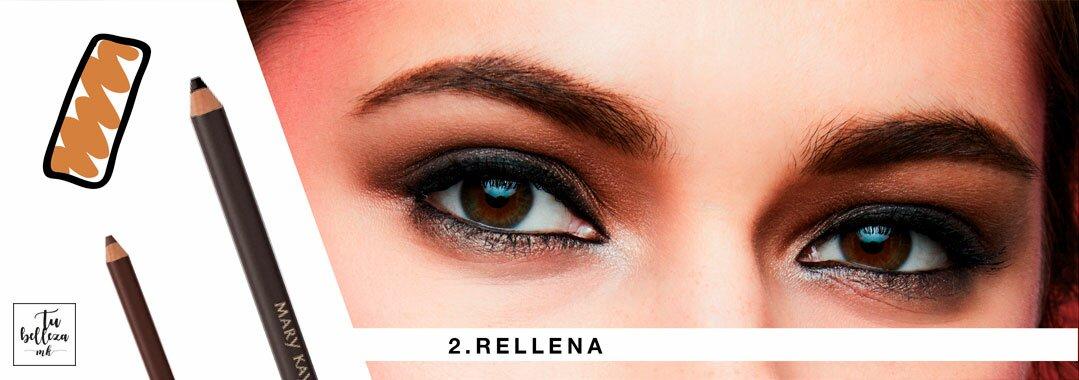 Truco número 2 para tus cejas: rellena los huecos