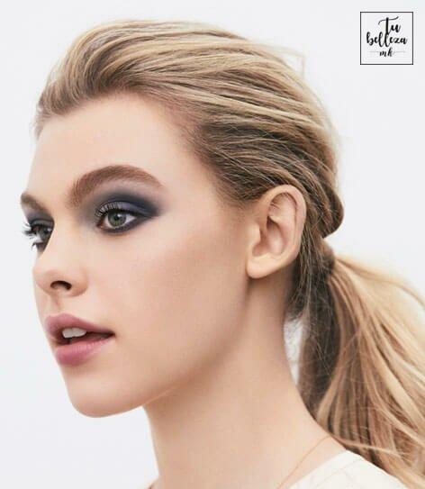 Tutorial de maquillaje de look de noche de otoño - invierno