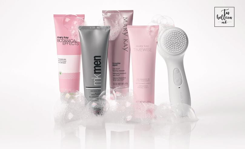 Escoge la limpiadora que más se adapte a tu tipo de piel
