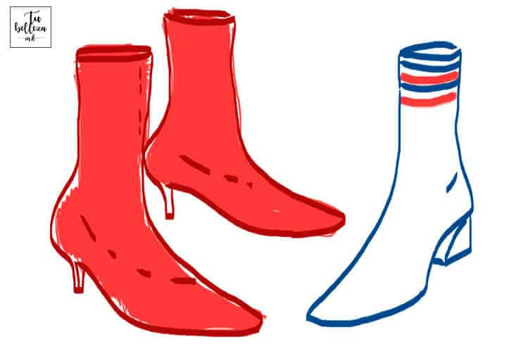 La bota calcetín llega pisando fuerte este otoño - invierno