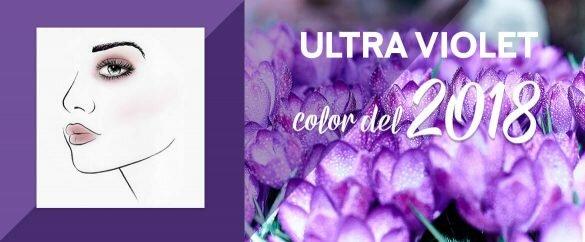 Descubre el color del 2018, el Ultra Violet y llena tu maquillaje y tu armario de tendencia