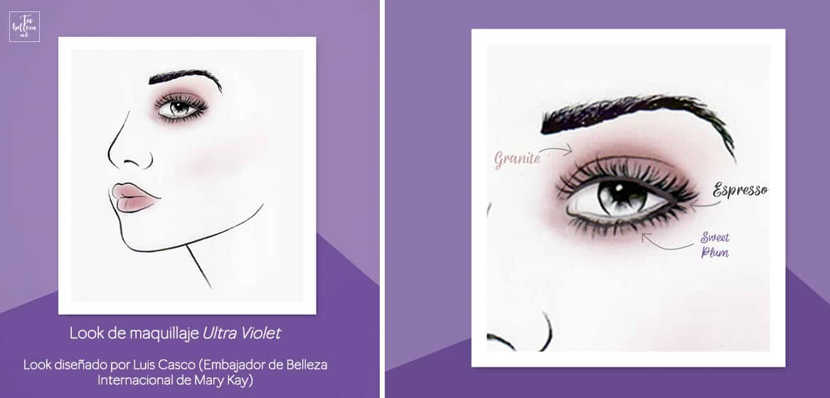 Tutorial de maquillaje de Luis Casco Ultra Violet