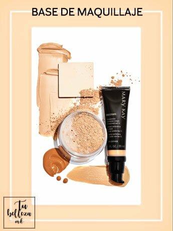 ¿Qué base de maquillaje elegir?