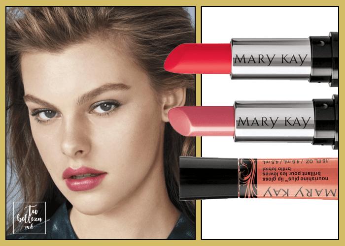 Elige tu tono de labios para pieles claras y pelo claro