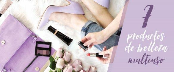 7 productos de belleza multiuso para utilizar y ahorrar tiempo y dinero