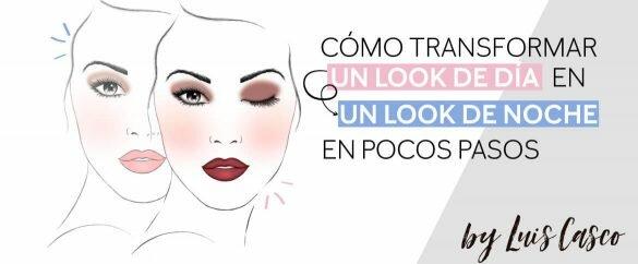 Cómo transformar un look de maquillaje de día en uno de noche en pocos pasos